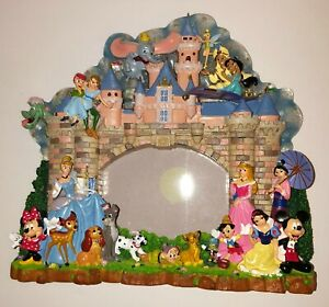 WALT-DISNEY-WORLD-PARKS-Collectable-3D-Photo-Frame