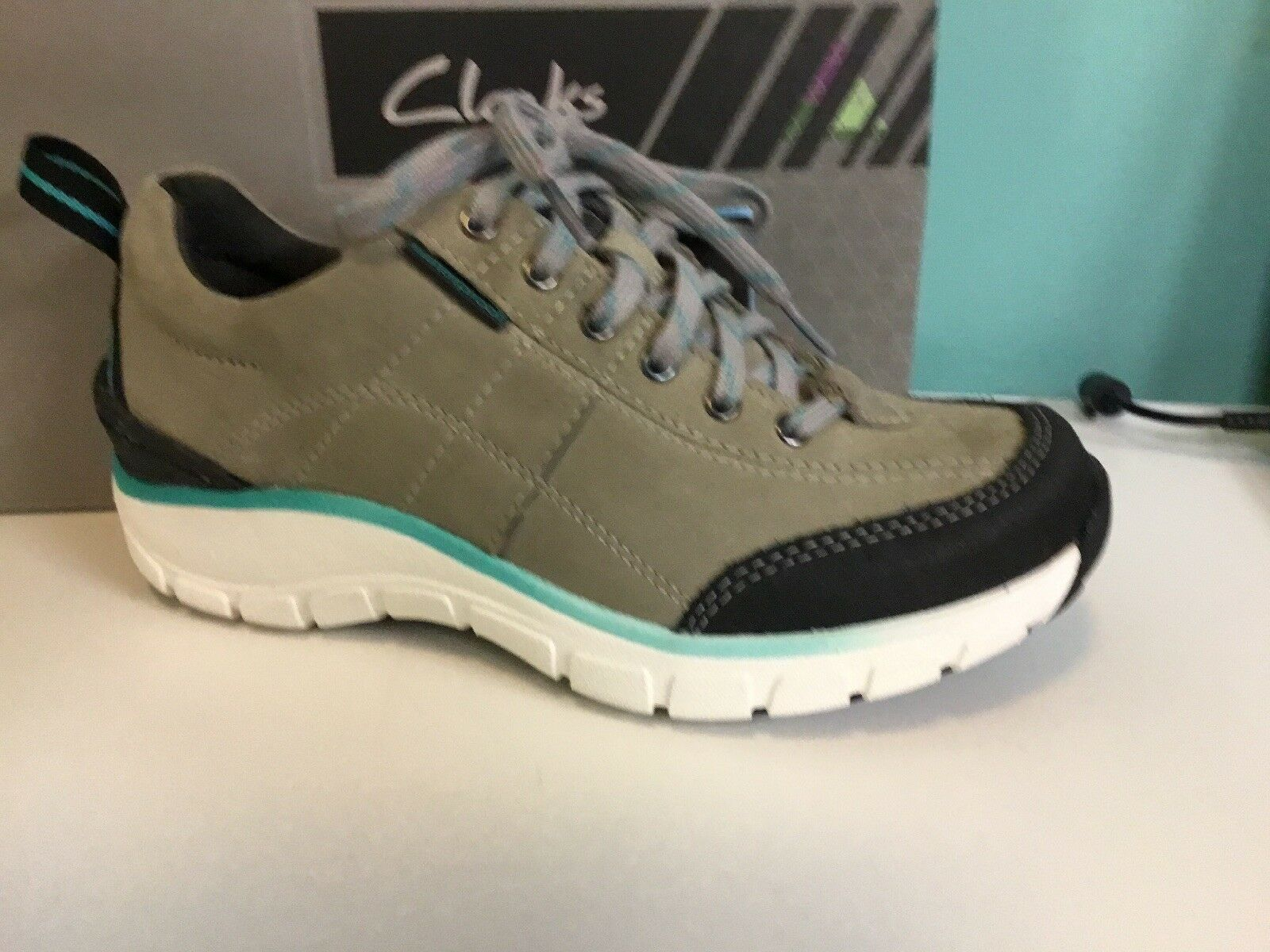 New Womens Clarks Wave Trek Sneakers Size 5.5 5.5 5.5 a40354