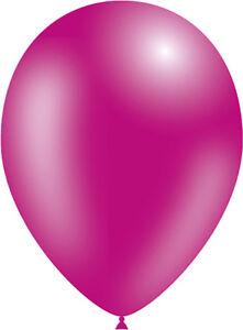 Metallic Light Pink 5 inch Air Fill Latex Balloons Birthday Party Event Decotex