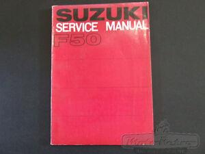 Suzuki-F50-F50M-F-50-M-1970-Models-Genuine-Workshop-Service-Repair-Manual