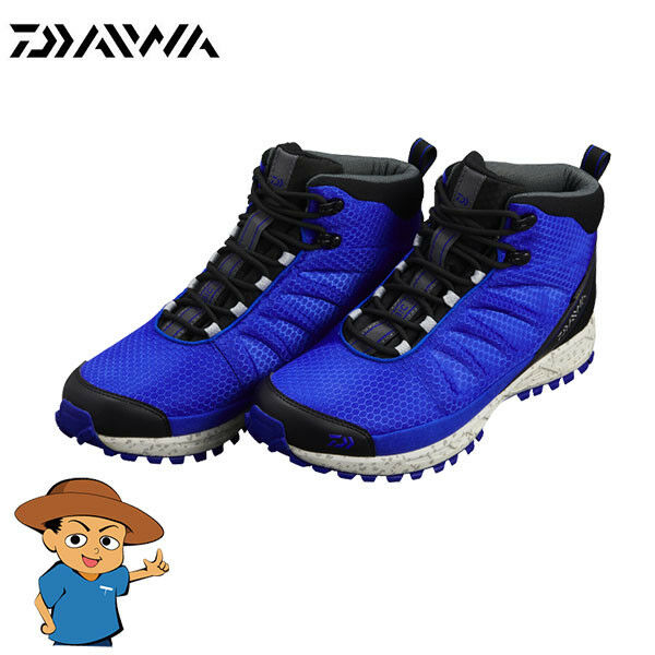 Daiwa DS-2101QS-H SPIKE SOLE FISHING OUTDOOR SHOES blue from JAPAN