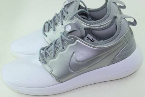 Silver Stylish Comfortable New Metallic Roshe Woman 5 Size Two Rare 8 4A17nx6W