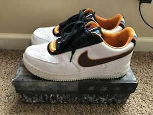 code promo 82088 0518f Details about Nike x Riccardo Tisci Air Force 1 One Low white