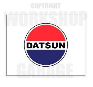 DATSUN-LOGO-XXL-SIZE-Sticker