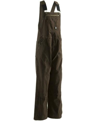 B1068MGNT Berne Men/'s Unlined Washed Duck Bib Overalls Tall
