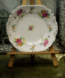 Vintage-New-Chelsea-Staff-Porcelain-Wall-Plate-1940-039-s