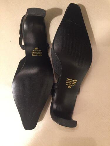 MoyenbM Chaussures U Nouveau Coup D'état Satin 6 Femme Noir sTaille BCxode