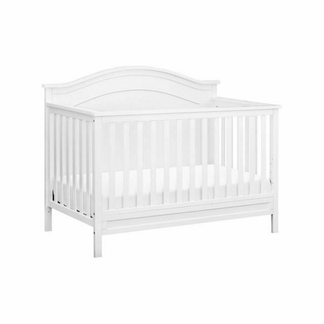 DaVinci Charlie M12801W 4-in-1 Convertible Crib - White
