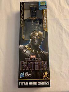 Marvel-Titan-Hero-serie-Erik-Killmonger-12-034-figure-Brand-New-amp-Sealed