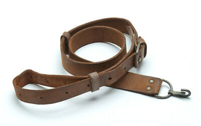 Original Surplus Leather Sling fits 7.62x39 5.45x39 /& AMD 65 good to very good