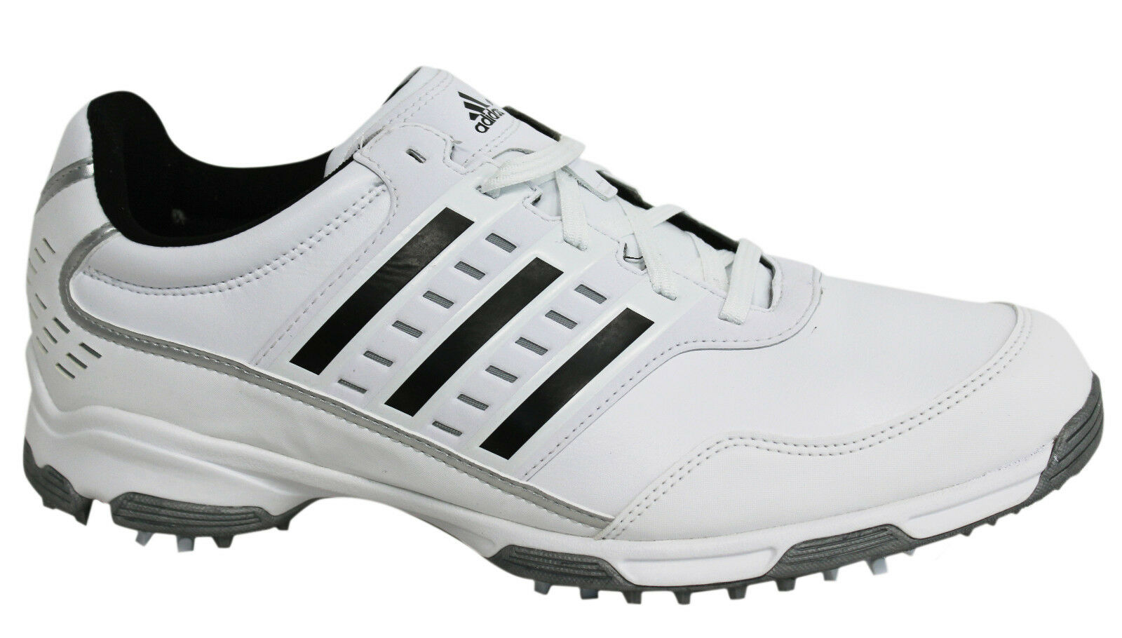 Adidas Mens Golf Lite Traxion ClimaProof Lace Up Mens Golf Trainers Q46874 U16