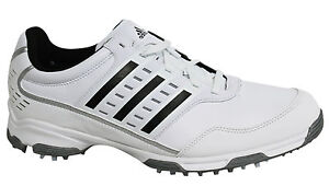 Adidas Mens Golf Lite Traxion ClimaProof Lace Up Mens Golf Trainers Q46874 U16