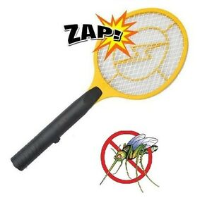 Electric Fly Killer Zapper Racket Insect Mosquito Wasp Swat Swatter Poison Free