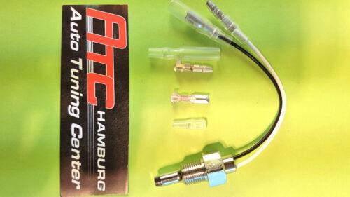 Geber Sensor 1//8 Zusatzinstrument Raid Hp Öltemperatur oder Wassertemperatur
