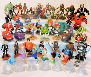 DISNEY-INFINITY-FIGURES-Playset-Pieces-1-0-2-0-Figures-are-compatible-with-3-0