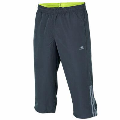 adidas Herren ClimaLite 34 Hose 3 Streifen Base Pant