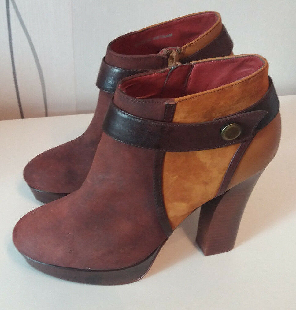 Zign High Heel Heel Heel Stiefelette Gr.39 7e81b6