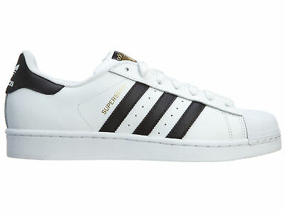 adidas Superstar Mens C77124 WhiteBlackGold Shell Toe