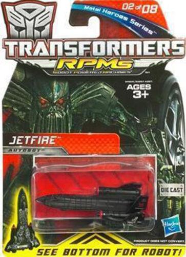 TRANSFORMERS ROTF METAL HERO SERIES RPM JETFIRE BRAND NEW FIgure READY TO SHIP