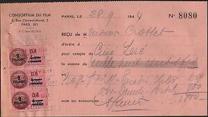 """PARIS (VIII°) LOCATION de BANDE DE FILM pour CINEMA """"CONSORTIUM DU FILM"""" en 1944 - France - État : Occasion : Objet ayant été utilisé. Consulter la description du vendeur pour avoir plus de détails sur les éventuelles imperfections. Commentaires du vendeur : """"correct"""" - France"""