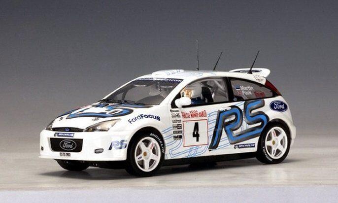 Autoart 14511 Slotcar 1 24 Ford Focus Rs WRC 2003