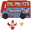 famosa 700014384 Smashers FOOTBALL Bus con 2 figure