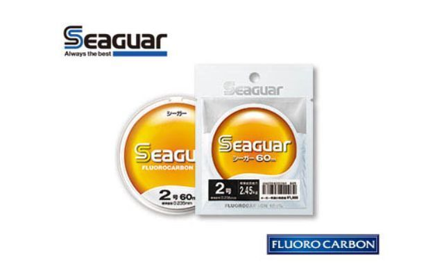 MONOFILO SEAGUAR ORIGINAL FLUgoldCARBON 60 MT PESCA 0,62 MM JAPAN LINE 62