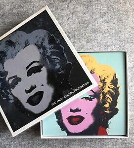 Marilyn Monroe : Andy Warhol Foundation : Set of 9 Boxed Prints
