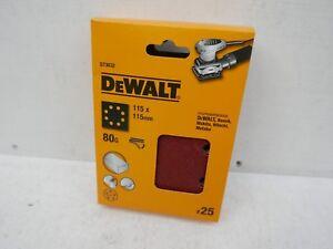 DEWALT-DT3032-25-X-80GRIT-115MM-PALM-SANDER-SANDING-SHEETS-DWE6411