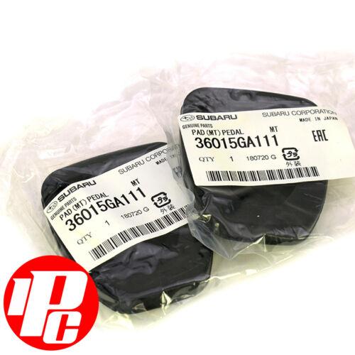 GENUINE Clutch Brake Pedal Rubbers Covers 36015GA111 Fits Subaru Forester All