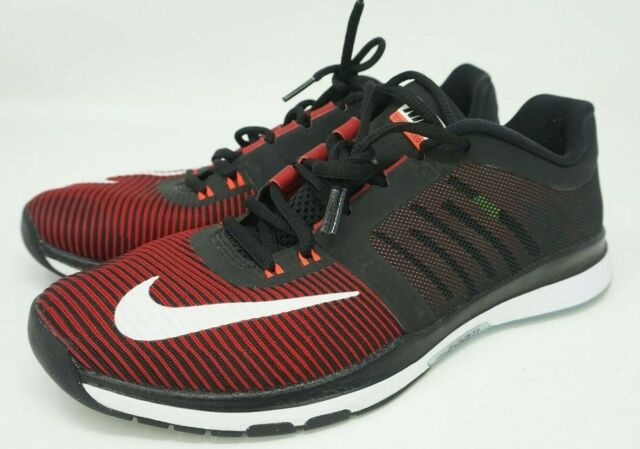 fast delivery sale usa online size 7 Nike Zoom Speed TR3 Run Training 804401-616 Men Size 8.5 Red Black White