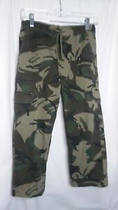 Wranglers Boys Sz 10-12 Camo Cargo Pants