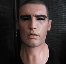DOMINIC MASK - Realistische Latexmaske, Realistic Male Latex Männermaske Rubber