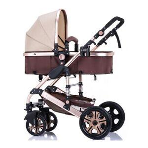 3-in1-Newborn-Baby-Pram-Car-Seat-Pushchair-Travel-System-Buggy-Stroller