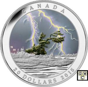 2015-039-Summer-Storm-Weather-Phenomenon-039-Proof-20-Silver-Coin-1oz-9999Fine-17335