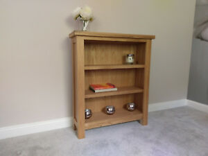Image Is Loading Regal Light Oak Small Low Bookcase Mini Compact