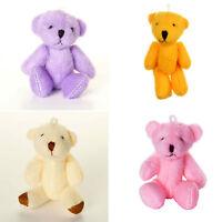 - Pink Purple Orange White - Assorted Teddy Bears - Small Cute Cuddly