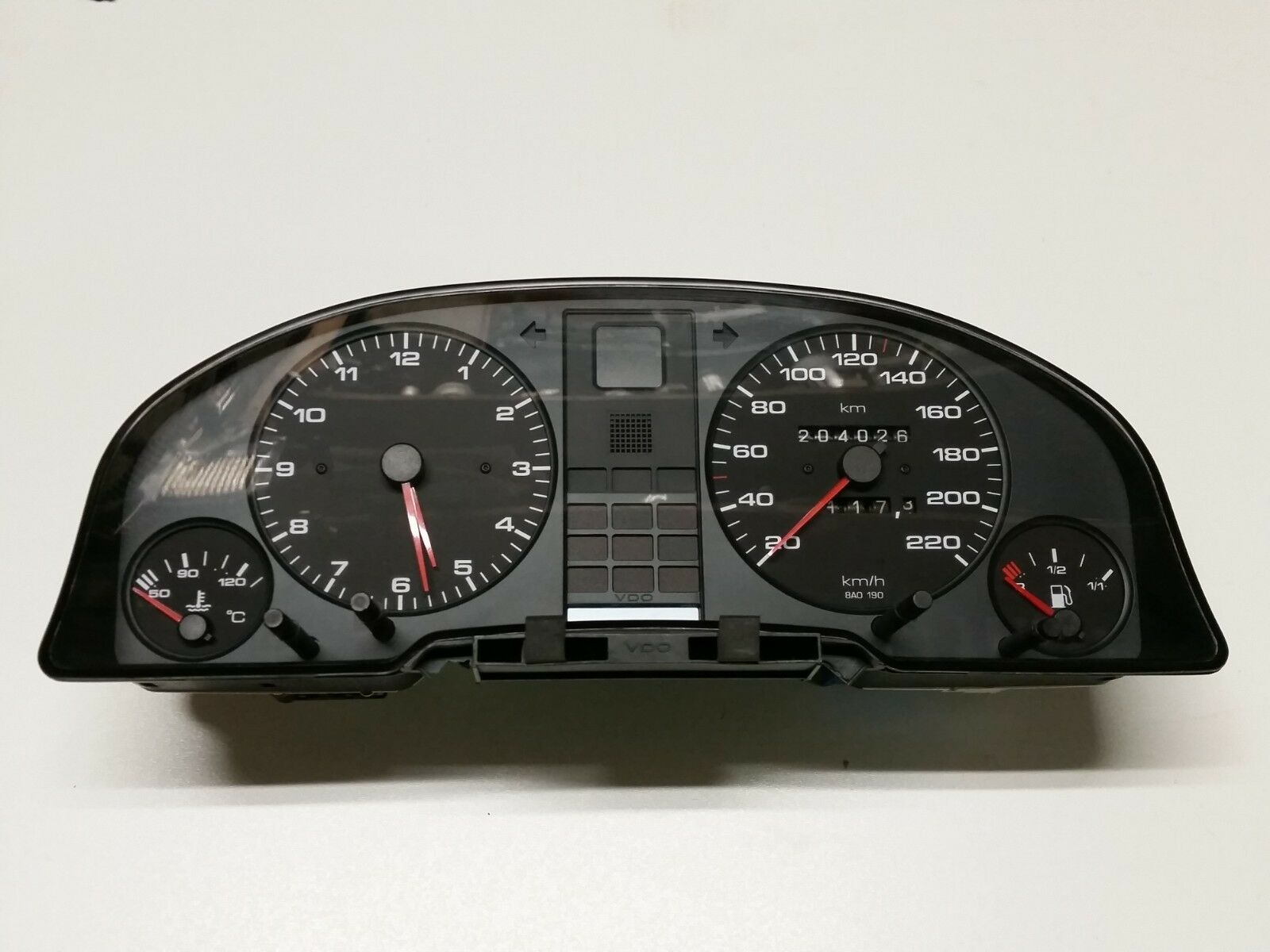 Audi 80 B4 2.0 petrol automatic gearbox instrument cluster 8A0919033CA