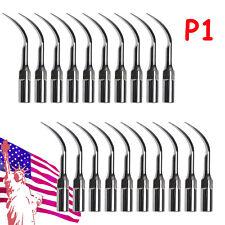 20dental Ultrasonic Piezo Scaler Perio Tips P1 Fit Emswoodpecker Handpiece