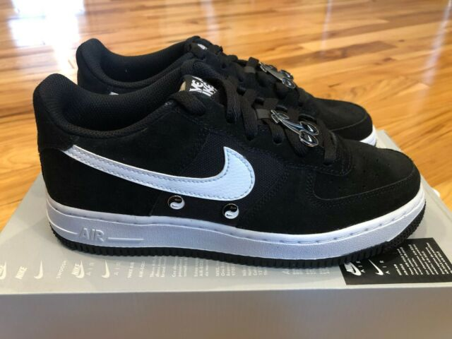 Nike Air Force 1 Lv8 Nike Day GS Black White Bq8273 001 Size 4.5y ...