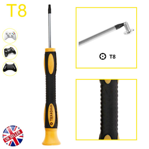 T8 Torx Star Magnetic Security Tamperproof Screwdriver Tool to XboxOne 360 PS3/4