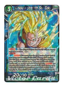 2x Resolute Strength Son Goku BT5-030 Rare Dragon Ball Super TCG Near Mint