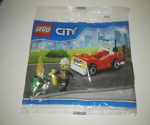 Lego-City-30347-Fireman-and-Fire-Car-Polybag-Brand-New
