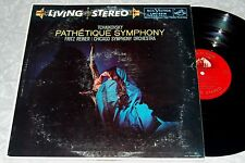 REINER Tchaikovsky Pathetique Symph. RCA LIVING STEREO SD LP LSC-2216 VG++