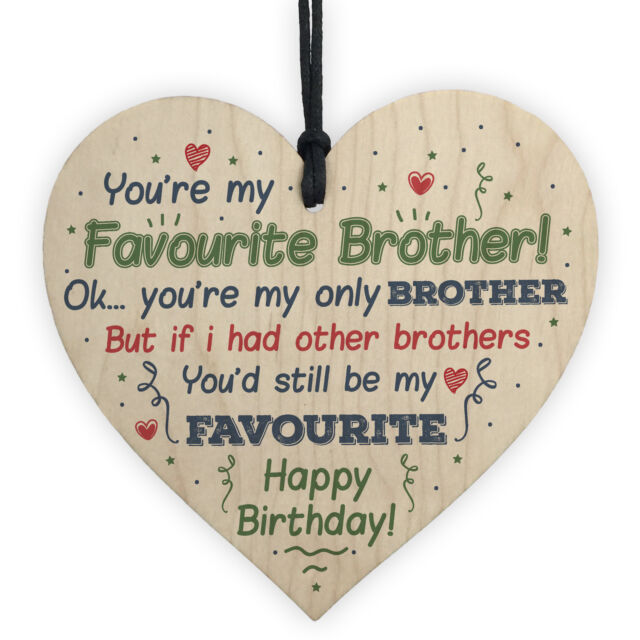 Brother Birthday Gifts For Him Sister Mum Dad Funny Card Baby Family