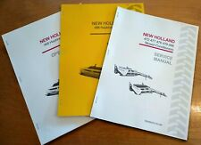 New Holland 488 Haybine Mower Conditioner Operators Service And Parts Manual