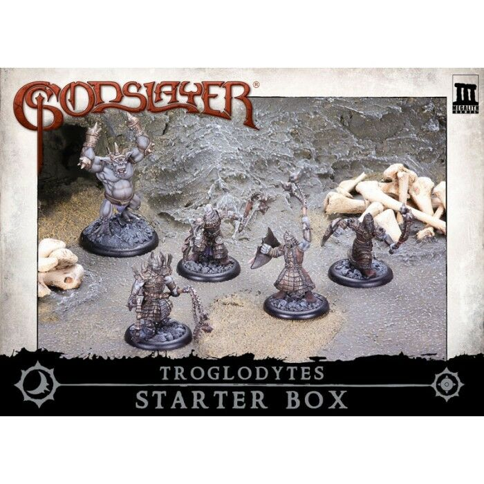 MG0500 - 50MM FANTASY - MEGALITH - GODSLAYER - TROGLODYTES STARTER BOX - G