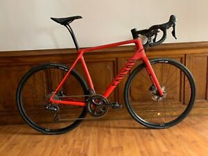Details about Beautiful Canyon Endurace CF SLX 8 0 Bike - Size L - Red  Carbon - Disc - Ultegra