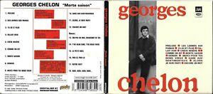 CD DIGIPACK 18 TITRES GEORGES CHELON MORTE SAISON DE 1998 MAGIC RECORDS