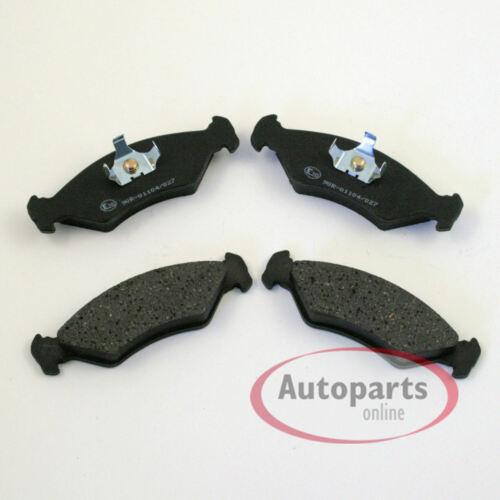 Bremsscheiben Bremsbeläge Bremsen für vorne die Vorderachse 453 Smart Fortwo